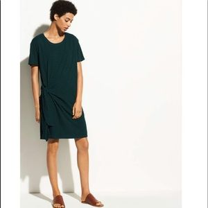 Vince Side Tie Dress. Size M. NWT. Retail- $200